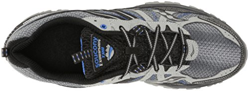 Saucony, Scarpe da Trail Running uomo Grey / Black / Royal