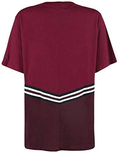 adidas Adibreak SS Tee Girl-Shirt Burgund Burgund