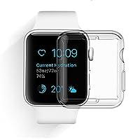 Materiale: grade in policarbonato ad alta + TPU poliuretano termoplastico per l'assorbimento degli urti.Package: - 1 x Custodia per Apple Watch