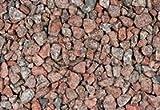 Ziersplitt Granitsplitt ROSA / ROT 8-16 mm, 20 kg Sack, Granit, Splitt, Gabionenfüllung, Gabione, Kies von Gartenwelt Riegelsberger