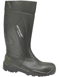 Dunlop  D760933 PUROFORT+, Bottes en caoutchouc non-fourrées, tige haute adulte mixte