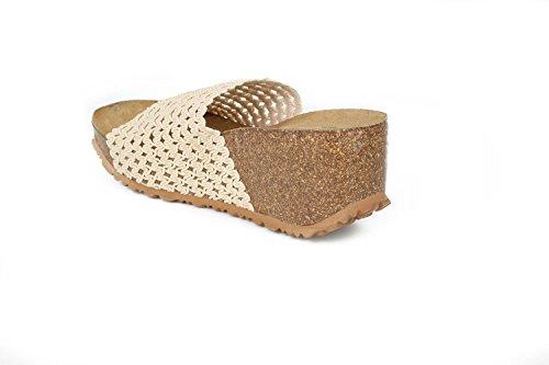 JOE N JOYCE Seoul Mesh sottopiede morbido sandali Beige