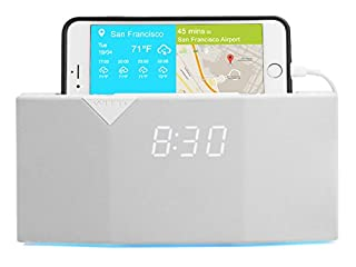 WITTI Design BEDDI - Smart Radio Alarm Clock Speaker with Smart Home Integration - White (B01N59K8T4)   Amazon price tracker / tracking, Amazon price history charts, Amazon price watches, Amazon price drop alerts