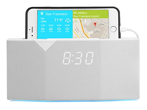 Beddi 6901-BK00I00 Radio-réveil intelligent pour Smartphones/Appareil mobile