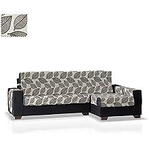 Funda cubre sofá Chaise Longue Diamond Brazo Derecho, Tamaño grande (275 Cm.), Color Único