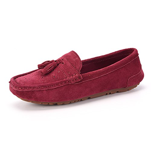 rond tête chaussures basses/Chaussures plates/Chaussures plates légères/Chaussures de conduite A