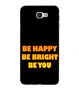 Life Quote 3D Hard Polycarbonate Designer Back Case Cover for Samsung Galaxy J7 Prime :: Samsung Galaxy On Nxt