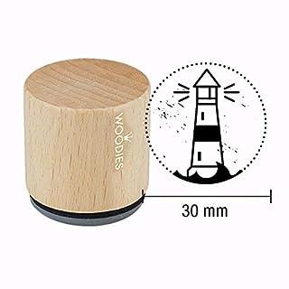 Woodies Motiv-Stempel - Leuchtturm - Maritim - Eine frische Brise