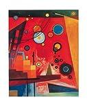 Wassily Kandinsky Poster/Kunstdruck Schweres Rot 40 x 50 cm
