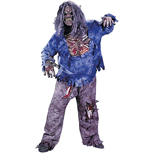 Zombie Days 28 Later Kostüm - Zombie Deluxe Komplettkostüm - Gr. XL