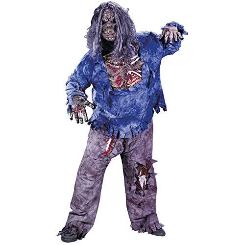 Zombie Deluxe Komplettkostüm - Gr. XL (28 Days Later Kostüm)