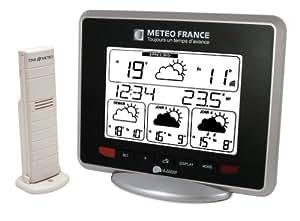 La Crosse Technology - WD9530F-IT-S-BL - Station météo france - Noir
