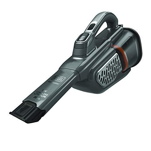 Black+decker bhhv520bt-qw, aspiratore ricaricabile aspirabriciole litio-36wh, capacità contenitore 700 ml, azione ciclonica, con accessori e base di ricarica, 18v