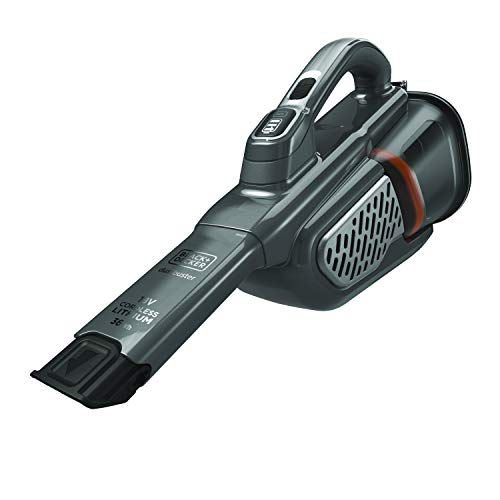 Black+Decker BHV520BT-QW - Aspirador Recargable, Color Gris/Titanio