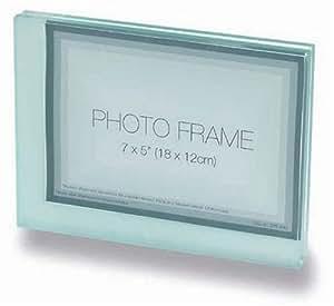 glass block style photo frame co uk kitchen home
