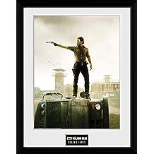 """GB eye fotografía enmarcada """"The Walking Dead temporada 7,6 cm, multicolor, 16 x 30,5 cm"""