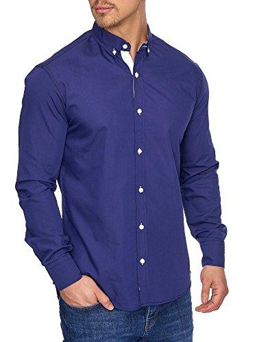 Tazzio - Chemise casual - Homme Bleu Marine