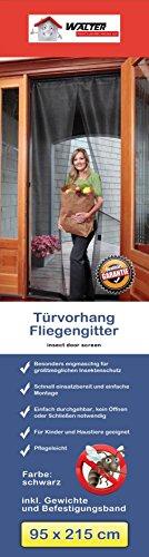 Insektenschutz Tür Vorhang 95x215cm Fliegengitter Lamellenvorhang Netz