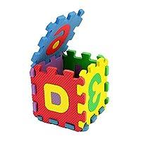 HINK Alphabet Foam 36Pcs Number Alphabet Puzzle Foam Maths Educational Toy Gift Home Decor