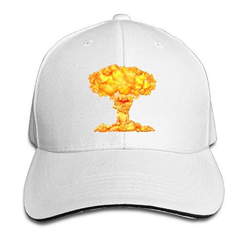 ShixiaoCC Atomic Bomb Mushroom Cloud Dad Hat Sun Hat Sandwich Baseball Cap Hats -