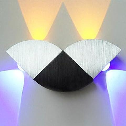 ALUK-4W llevó la luz de pared moderno con Dispersión 4 luces Geometría abstracta Dise?o
