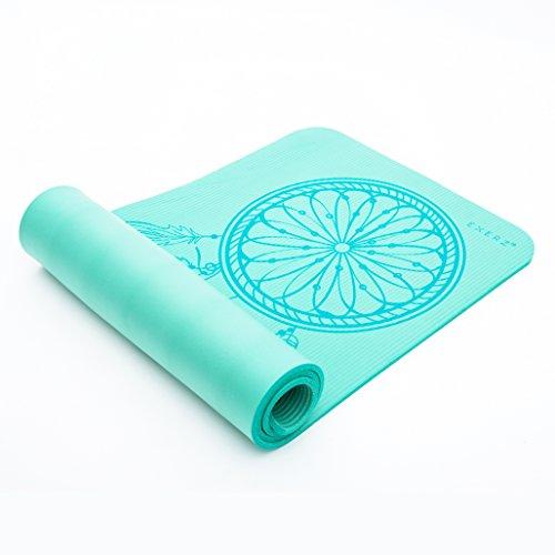 Exerz Yoga / Gym Mat con una correa de transporte y bolsa...