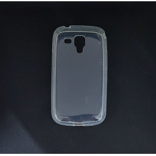 Silicone Case Samsung S7560 Galaxy Trend / S7562 Galaxy S DUOS / S7580 Galaxy Trend Plus / S7582 Galaxy S DUOS 2 (Bianco Trasparente)