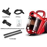 HANFEI Dry Vacuum Cleaner, Horizontal Vacuum Cleaner, 1000W High Power, 2L Capacity,...