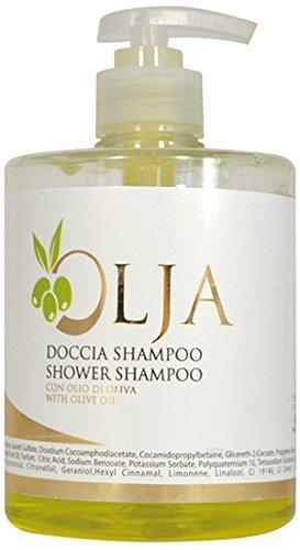 Olja oljds500F Dusch/Shampoo, Flaschen 500ml, 12Stück -