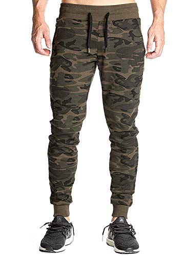 Delhitraderss Men's Boy's Cotton Army Camouflage Track Pants(Size-XL)