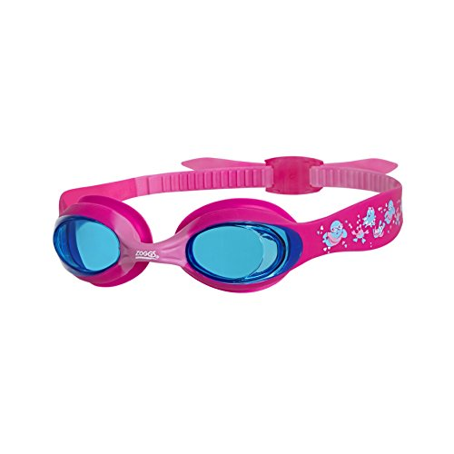 Zoggs Kinder Little Twist Schwimmbrille, Pink/Tint, One Size