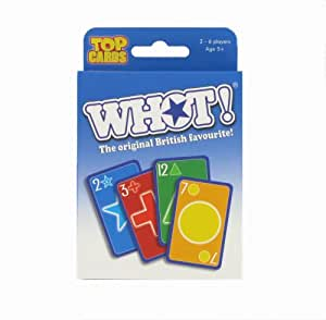WHOT! Travel Tuckbox Card Game