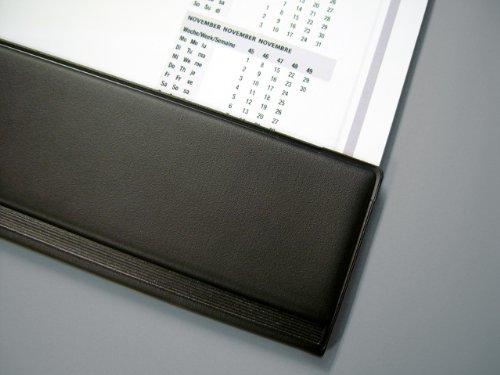Sigel HO365 Papier-Schreibunterlage mit Schutzleiste, 2-Jahres-Kalender, 59,5 x 41 cm , 40 Blatt