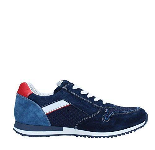 Nero Giardini P800371U Sneakers Uomo Blu notte Populares En Línea Barata Precio Barato Al Por Mayor En Línea e57cgAQn
