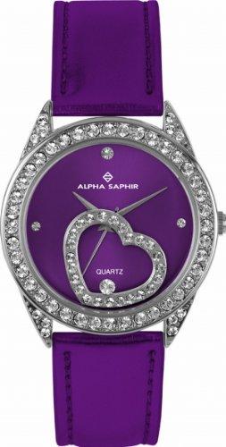 Alpha Saphir Damen-Uhren Quarz  Analog 324C