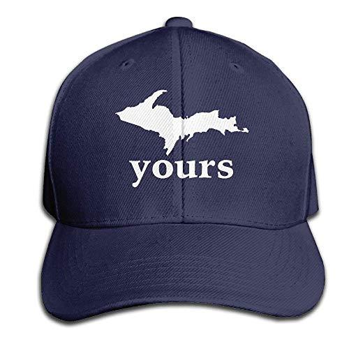 dingjiakemao New Up Yours Michigan Cotton Cap Hats Fitted Black Baseball Cap