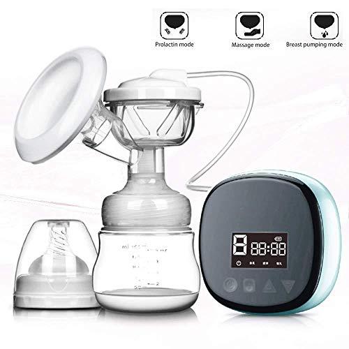 GHJGFGH Tiralatte Ricaricabili con Pompa A Siringa Ricaricabile per Tiralatte USB con Pompa per Il Seno E Massaggiatore per Il Seno