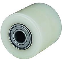 Alex KN - Rodillo para transpaleta (diámetro de 82 mm, carga soportada 700 kg, longitud del buje 70 mm)
