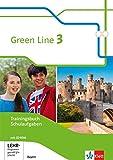 Green Line 3. Ausgabe Bayern: Trainingsbuch Schulaufgaben, Heft mit Lösungen und CD-ROM 7. Klasse (Green Line. Ausgabe für Bayern ab 2017) -