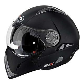 Airoh Motorrad Helm J106, Schwarz Matt, 58
