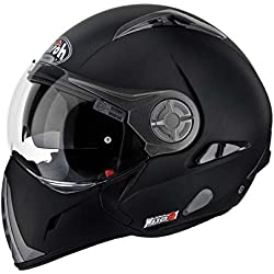 Airoh Moto Casco J106, color Negro mate, talla 58-M