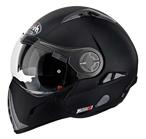 Airoh Moto Casco J106, color Negro mate, talla 60-L