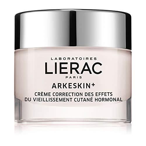 LIERAC ARKESKIN Crema correzione pelle in menopausa - Pelle molto secca - Invecchiamento ormonale - Anti-rughe - Nutriente - Senza fitoestrogeni -Viso - 50ml