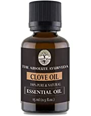 Sheer Veda Clove Essential Oil 100% Pure, Natural and Undiluted for Skin, Hair and teeth 15 ml
