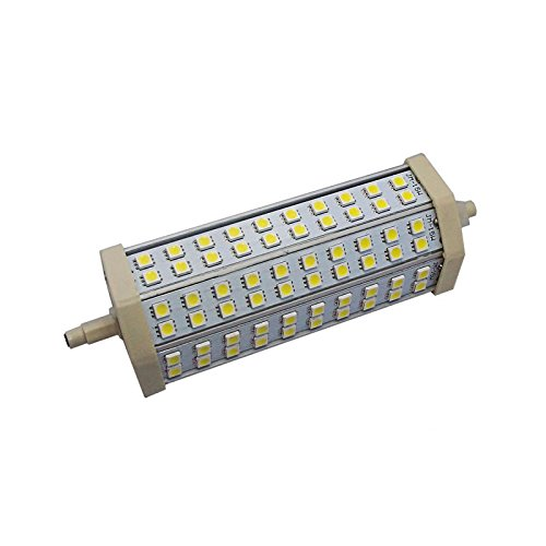 Ledbox LD1033104 - Bombilla LED, R7S, 13 W, 60 x SMD 5050, 189 mm, color blanco cálido
