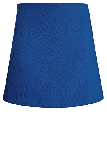 oodji Ultra Damen Kurzer Trapezrock Blau (7500N)