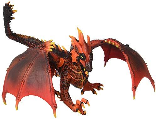Schleich- Figura dragón de lava, Color Naranja, 14'5 cm