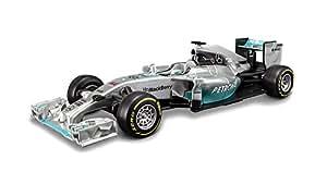 BBurago 15641220–1: 32Race Plus F1Mercedes AMG Petronas W052014Véhicule