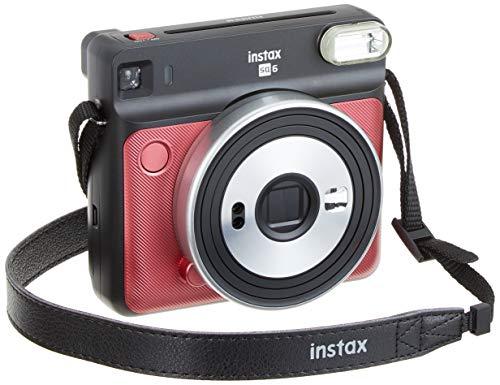 Fujifilm Instax Sq 6 Ex D Sofortbildkamera, Ruby Red