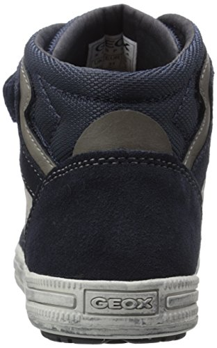 Geox Elvis H, Sneakers Hautes Garçon Blau (NAVY/GREYC0661)